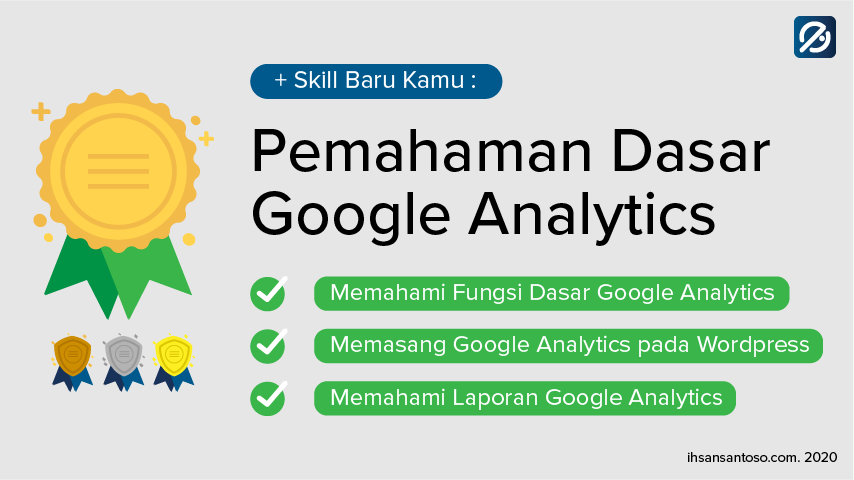 sertifikat - pemahaman dasar google analytics