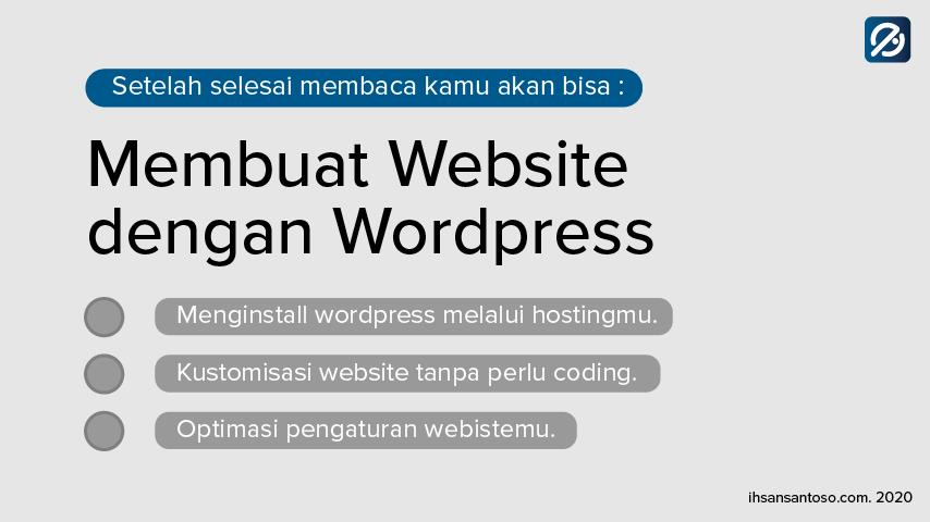 cara membuat wordpress